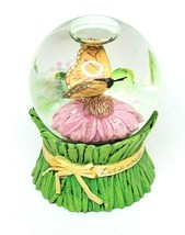 """Hallmark Marjolein Bastin Miniature Butterfly Water Globe 3"""" Live In Wonder - $30.00"""