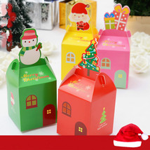 5 Pcs/set Christmas Gift Box Beautifully Folded Colorful Christmas Apple... - $19.99
