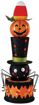 Halloween Stacked Display Figurine, 16 X 42 Inches,Metal/Plastic - $198.40