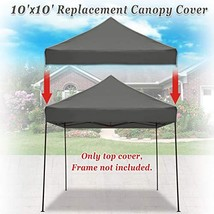 Strong Camel Pop up 10'X10' Replacement Ez Gazebo Canopy Awning Roof Top... - $48.14