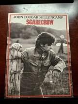 John Cougar Mellencamp Songbook sheet music SCARECROW small town rock in... - $9.69