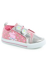 NEW NWT Girls Peppa Pig Baby and Toddler Shoes Size 6 - $22.99