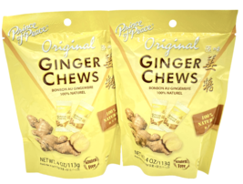 Prince of Peace Ginger Chews Candy Original (100% Natural) 4 oz ( Pack o... - $9.75