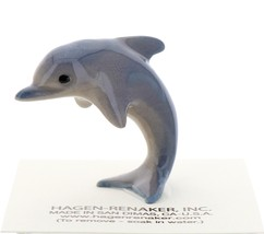 Hagen-Renaker Miniature Ceramic Wildlife Figurine Porpoise Jumping Small