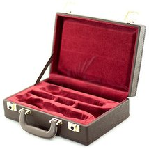 Sky CLHC501 Premium Bb Clarinet Case Brown Imitation Leather Exterior wi... - $69.29