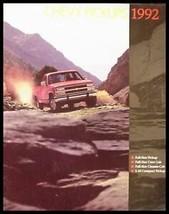 1992 Chevy Chevrolet Pickup Truck Brochure - $5.93