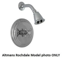 ALTMANS Rochdale Collection ROT42H1XSN Shower Trim Only W/ Handle - Sati... - $150.00