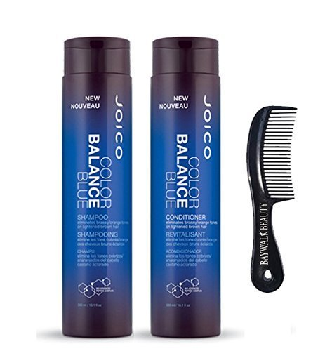 Joico Color Balance Blue Shampoo 10.1 fl oz + Blue Conditioner 10.1 oz with FREE