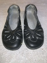 JBU 9M 9 Medium Black Leather Adventure Design Sport Closed Toe Sandals Juniper - $21.75