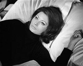 Sophia Loren Operation Crossbow On Bed 16X20 Canvas Giclee - $69.99