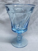 Fostoria Jamestown Blue Water Goblet - $12.86