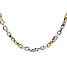 4.27mm 14K Two Tone Gold Bullet Chain - $1,123.65