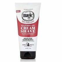 Magic Razorless Cream Shave Extra Strength 6 Oz. Pack of 3 image 1