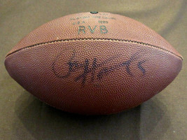 PAUL HORNUNG PACKERS HOF SIGNED AUTO VINTAGE RAWLINGS TONY DORSETT FOOTB... - $197.99