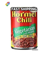 Hormel 99% Fat Free Vegetarian Chili with Beans 15.00 oz A 6 Pack, Fast ... - $27.00
