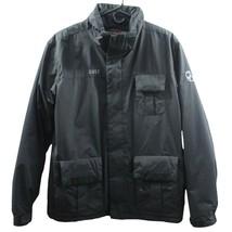 Columbia Youth winter jacket convert CNVT gas mask black zip up 18-20 - $31.90