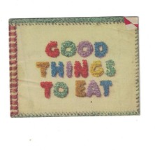 Vintage Good Things to Eat 1943 Booklet Pamphlet Church & Dwith Co. Inc  - $9.99