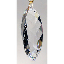 Swarovski 50mm Crystal Swirl Cut Drop Prism image 3