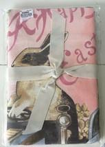 Set 2 WILLIAMS SONOMA Easter Tea Towels Vintage Bunny Rabbits NIP New in... - $21.78
