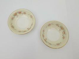 "Homer Laughlin Eggshell Georgian China Dessert Bowls Set of 2 L52 N5 USA 5.25"" - $9.74"
