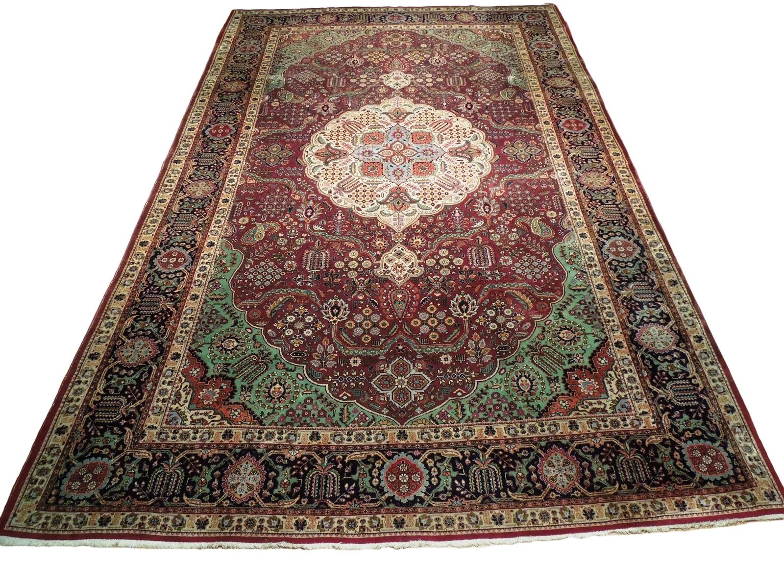 Compex Design Original Red Traditional Persian Wool Handmade Rug 10x16 Rug