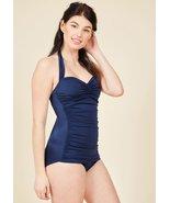Dark Blue One Piece Swimsuit - $16.99