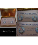 Olde Button Heirloom Earrings Mama CAT NWT by Barry & Jacque - $12.99