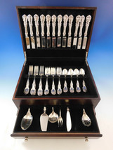 Burgundy by Reed & Barton Sterling Silver Flatware Set for 12 Service 54... - $3,217.50