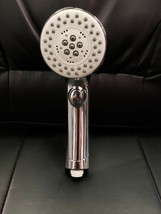 Five Function Hand Held Shower Head - Chrome Finish - $12.86