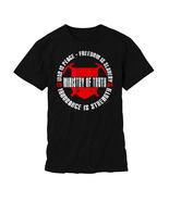 George Orwell 1984 Ministry of Truth Men T-Shirt Size S M L XL - $17.99