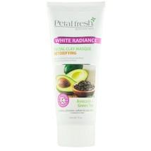 Petal fresh - White Radiance Detoxifying Facial Clay Masque Avocado & Green Tea - $13.85