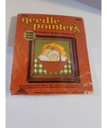 Sunset Designs Needle Pointers Crafts Yarn Stitchery Kit Egg Basket #5290 - $12.98
