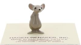 Hagen-Renaker Miniature Ceramic Mouse Figurine Little Brother Hands Behind Back image 1