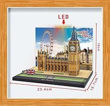 DENTT Big Ben London Building 3D Diorama Kit with Led Light - $5.99