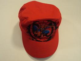 Gertex Boys' Hat Spiderman 100% Cotton Male Kids 2T-4T Reds - $6.37