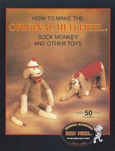 How to Make the Original Red Heel Sock Monkey and Other Toy Fox River Mills BOOK - $13.99