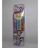 Cartoon Network The Powerpuff Girls Book Covers Removable 4 Rolls Self A... - $24.74