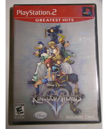 Playstation 2 - Disney KINGDOM HEARTS 2 (Complete with Manual) - $18.00