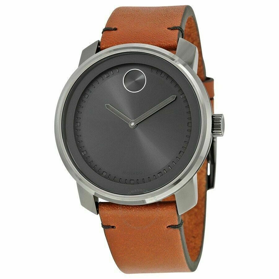 Movado Bold 3600366  Brown Leather Men's Watch