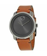 Movado Bold 3600366  Brown Leather Men's Watch - ₹19,506.89 INR