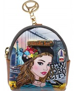Ivette Poses On NY Sunset keychain Cute Designer Mini Backpack Keychains... - $16.99