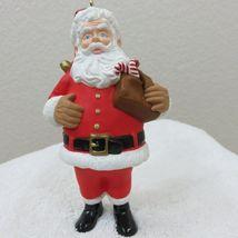 Vintage 1996 Hallmark Keepsake Ornament Santa in Original Box image 7