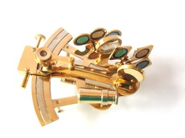 An item in the Antiques category: Solid Brass Navigation Desk Sextant Handmade Nautical Working Marine Sextant