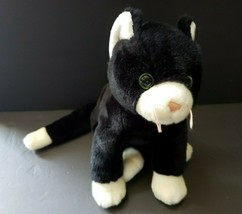 """1999 Ty Cat Black Cat Retired Large Good Condition Beanie Buddy 17"""" - $27.99"""