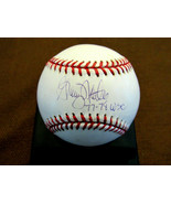 GRAIG NETTLES 1977-78 WSC NEW YORK YANKEES 3RD BM SIGNED AUTO OML BASEBA... - $118.79