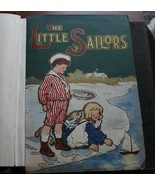 Vintage Very Old Salesman Sample Children's Books 4 Books Case 1899 - $94.99