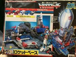 Takara Transformers Micro Transformers Fusée Base Action Figurine D'Occa... - $426.73
