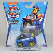 Paw Patrol True Metal Die-Vehicle with Yellow Wheels, Chase - $14.24