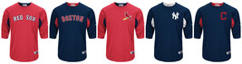 Majestic MLB Authentic Collection On-Field 3/4 Sleeve Batting Practice Jersey