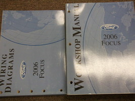 2006 Ford Focus Service Repair Shop Workshop Manual Set OEM W EWD Factory - $59.35
